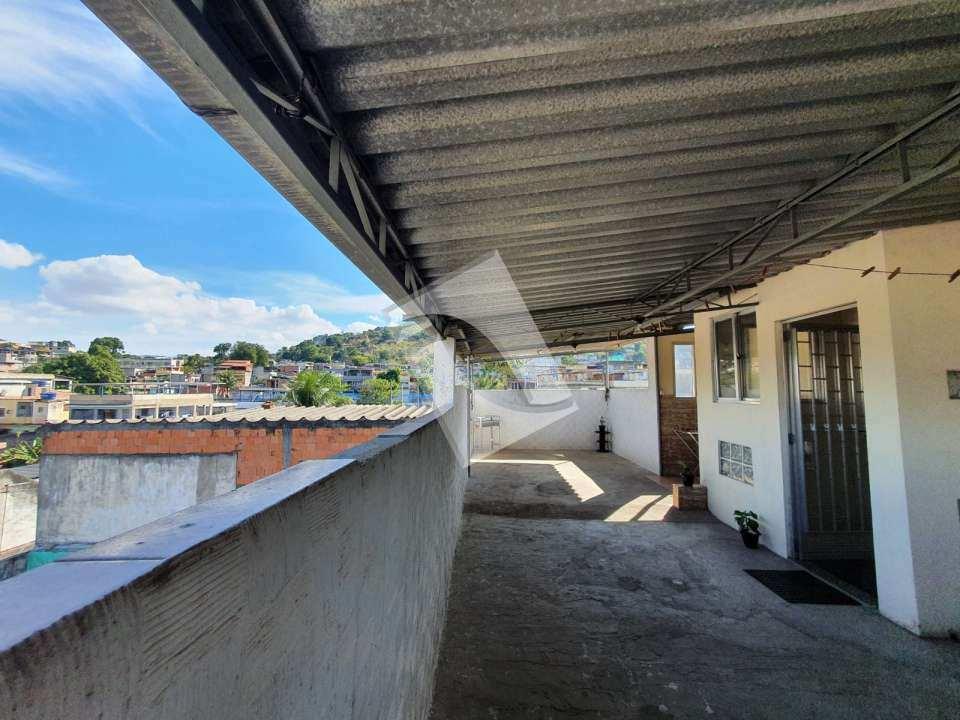Apartamento à venda Rua Coronel Alberto de Melo,Vila Centenário, centro,Duque de Caxias - R$ 120.000 - 64 - 5